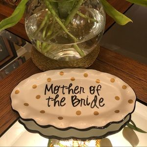 Mother of the bride plate
